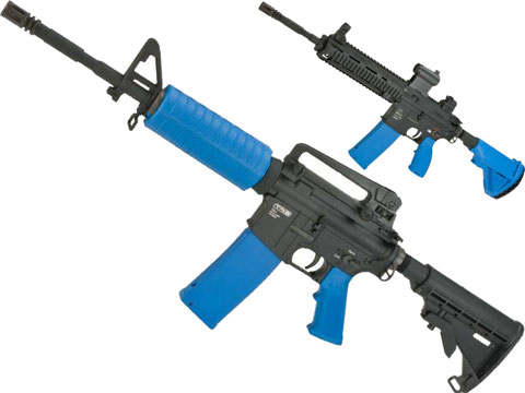 T4E Training for Engagement  CO2 Powered .43 Caliber Training Marker (Model: M4A1 / Blue)