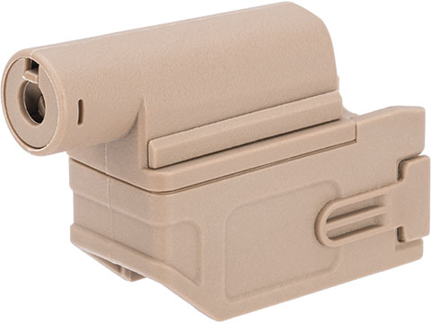 Tokyo Arms M4 AEG Magazine Adapter for Tokyo Marui Spec Airsoft Shotguns (Color: Tan)