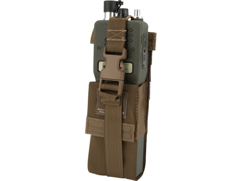 Tactical Tailor Large Radio Pouch (Color: Coyote Brown)
