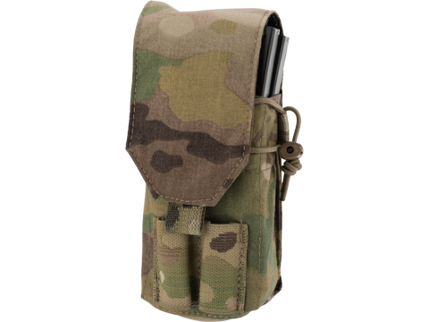 Tactical Tailor Fight Light 5.56 Double Magazine Pouch (Color: Multicam)