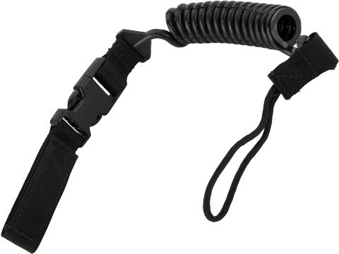 Tactical Tailor QR Pistol Lanyard (Color: Black)