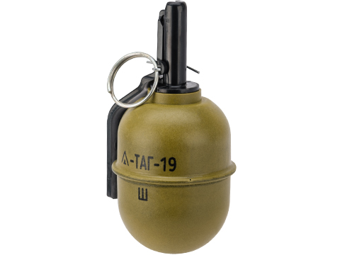 TAGinn TAG-19 Airsoft Pyrotechnic Hand Grenade (Quantity: Set of 6 / Tag-19w BB Version)