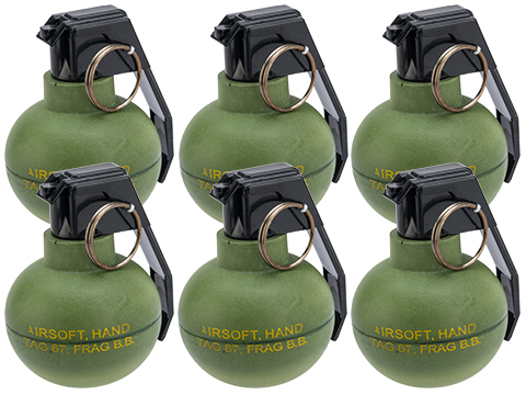 TAGinn TAG-67 Airsoft Pyrotechnic Hand Grenade