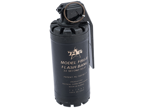 TAGinn FBG-6 Airsoft Sound Hand Grenade (Quantity: Set of 6)