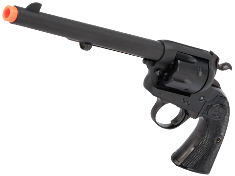 Tanaka Colt Single Action Gas Powered Revolver (Model: 7.5 Bisley Model / Matte Black Finish)