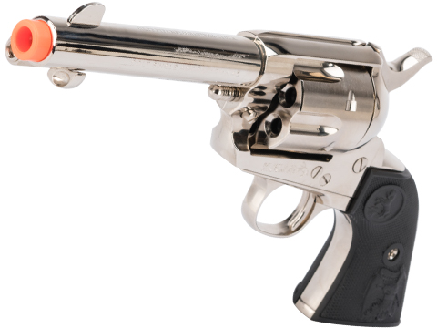 Tanaka Licensed Colt Single Action Army .45 Gas Powered Revolver (Model: 4 Barrel / Nickel Chrome Finish)