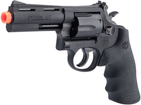 Tanaka Officially Licensed Smolt Heavy Weight Version 3 Gas Airsoft Revolver (Model: 4 / Black)