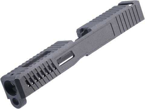 Tapp Airsoft Dark Side Precision Performance Series Slide for ISSC M22, SAI BLU, Lonewolf, & Compatible Airsoft Gas Blowback Pistol