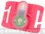FMA S-Lite Horizontral IFF Strobe LED for MOLLE - Pink Buckle / Green Strobe