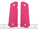 FMA Tactical Polymer Grip Panels for 1911 Airsoft GBB Pistols - Pink