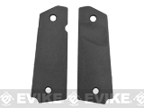 FMA Tactical Polymer Grip Panels for 1911 Airsoft GBB Pistols - Black