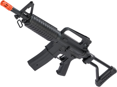 JG M4 Commando Airsoft AEG Rifle w/ Skeleton Side Folding Stock
