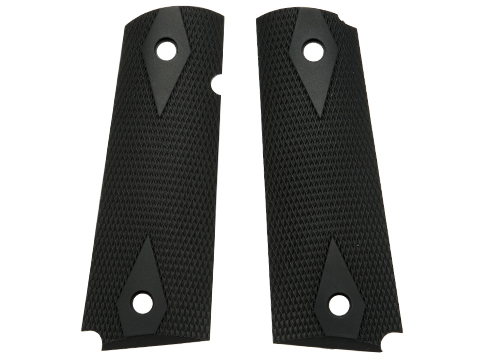 OEM Factory Grip Panel Set for KWA Mark I and MK III / 1911 series GBB Gas Blowback Pistols