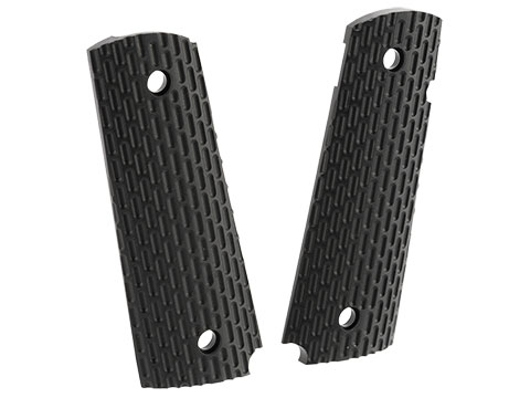 Replacement Grip Panels for KWA MKII Gas Blowback 1911 Airsoft Pistols
