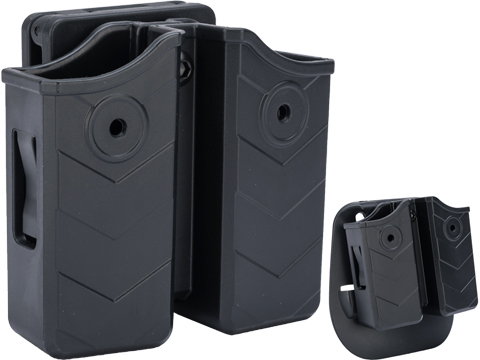 TEGE Universal 9mm / .40 S&W Double Stack Magazine Holster