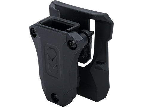 TEGE Universal Single 9mm / .40 S&W Double Stack Magazine Holster (Model: Belt Paddle)