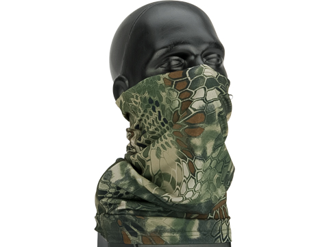 Adjustable Face Mask with Elastic Strap (Color: BDU Snake)