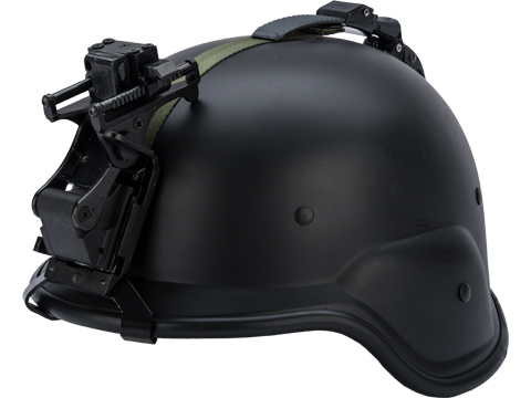 Matrix M88 Style Airsoft Helmet with Night Vision Mount (Color: Black)