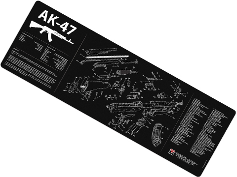 TekMat Armorer's Bench Gun Cleaning Mat (Model: AK47)