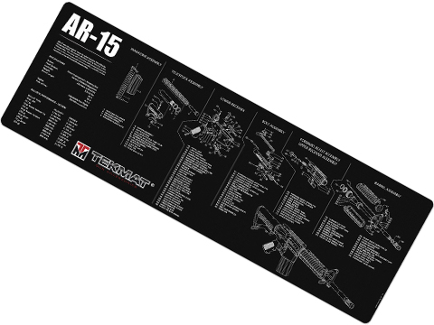 TekMat Armorer's Bench Gun Cleaning Mat (Model: AR15)