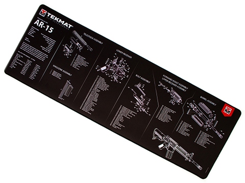 TekMat Armorer's Ultra Bench Gun Cleaning Mat (Model: AR-15)