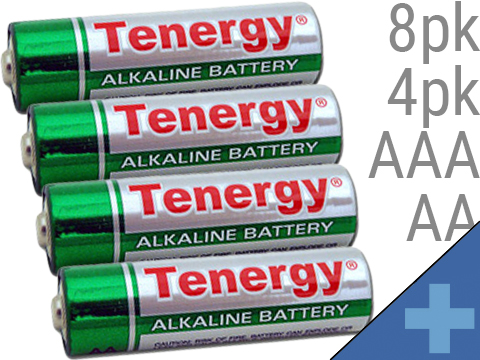 Tenergy High Quality Alkaline Batteries