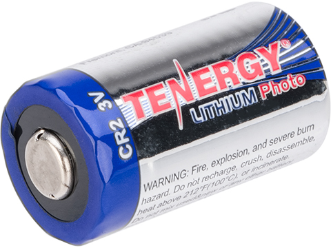 Tenergy High Performance Lithium CR2 Batteries (Qty: 10 Pack)