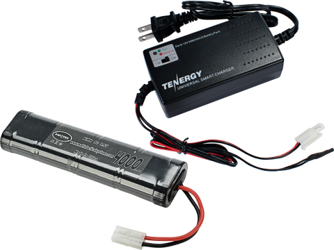 AEG Battery Starter Package w/ Smart Charger (Battery: 9.6v 4000mAh Large Type)