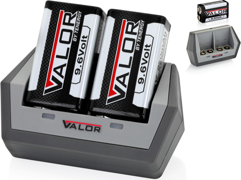 Tenergy Valor Rechargeable 9V NiMH Batteries