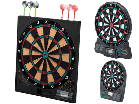 World Champion Electronic Dartboard (Model: 15.5)