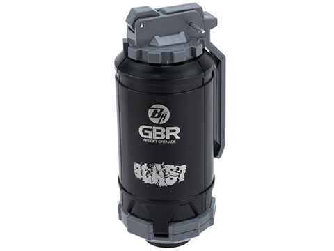 6mmProShop GBR Airsoft Mechanical BB Shower Simulation Hand Grenade (Color: Gray)