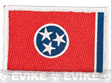 Evike.com Tactical Embroidered U.S. State Flag Patch (State: Tennessee The Volunteer State)
