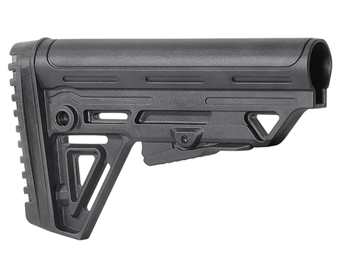 Trinity Force Polymer Alpha Mk2 Retractable Stock (Color: Black)