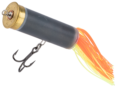 The Fishing Armory 12 Gauge Shot Shell Popper Lure (Color: Pumpkin)