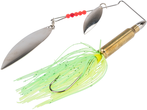 The Fishing Armory .223 Bass Spinner Lure (Color: Chartreuse)