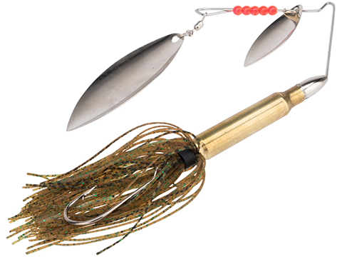 The Fishing Armory .223 Bass Spinner Lure (Color: Green Sardine)
