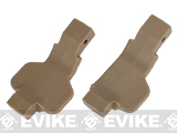 Strike Industries Cobra Series Airsoft M4 / M16 / AR Trigger Guards (Lefty / Ambidextrous) - Dark Earth