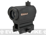 TruGlo TRITON� 20mm Red / Green / Blue Dot Sight with Low + High-Rise Mount - Black