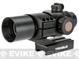 TruGlo TRITON� 30mm Red / Green / Blue Dot Sight with High-Rise Mount - Black