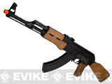 G&G Top Tech Full Metal AK47 RK47 Blowback Airsoft AEG Rifle with Real Wood -
