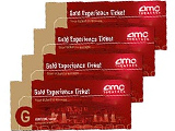 "*Unrestricted AMC Gold Experience� ""No Expiration"" Movie Tickets 4-pack"