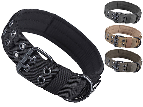 OneTigris Adjustable Military K9 Dog Collar