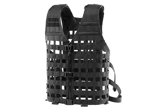 OneTigris Modular Tactical Airsoft Vest (Color: Black)