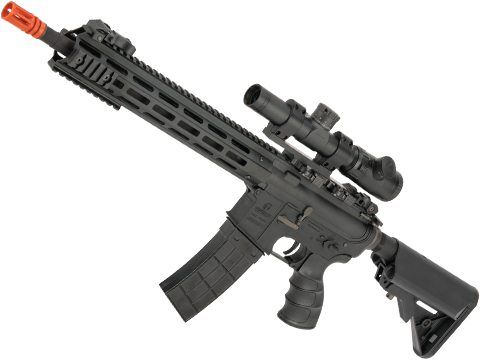 Tippmann Recon Full Size M4 Airsoft AEG with M-LOK Handguard (Length: Carbine / Black)