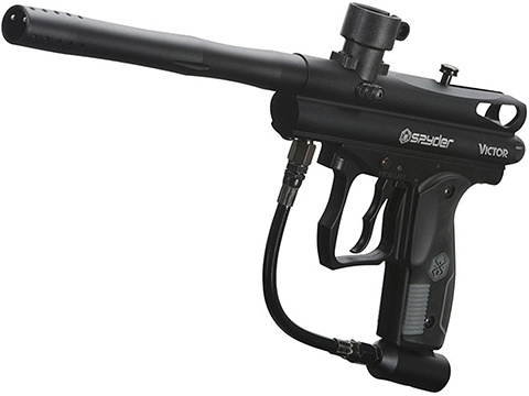 Spyder Victor Semi-Auto Paintball Marker (Color: Diamond Black)