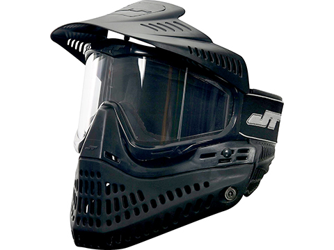 JT Paintball Proflex Thermal Full Seal Mask (Color: Black / Clear Lens)