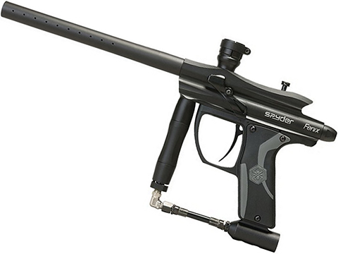 Spyder Fenix Electronic Paintball Marker (Color: Diamond Black)
