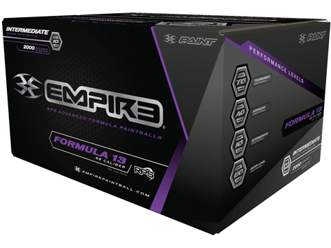 Empire Formula 13 Paintballs - Case of 2000