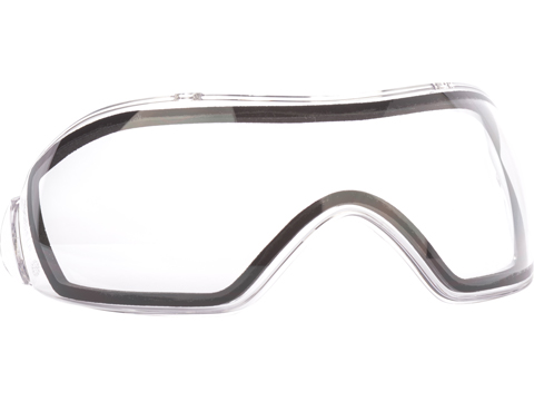 V-FORCE Thermal Dual Pane Anti-Fog Replacement Lens for Full Seal Grill Masks (Color: Clear)
