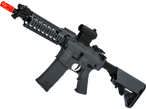 Tippmann Basic Training Full Size M4 Airsoft AEG with RIS Handguard (Length: CQB / Grey)